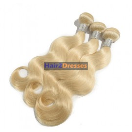 Honey Blonde Brazilian hair